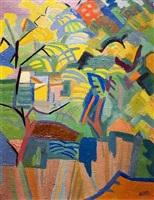 acacias by andré lhote