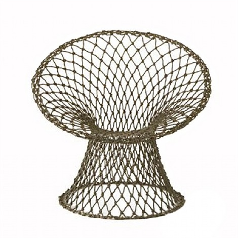 fishnet chair by marcel wanders
