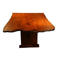 redwood table by richard neutra