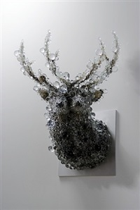 pixcell-double deer by kohei nawa