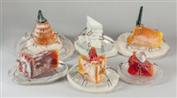 six desserts (6 works) by hank murta adams