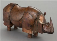 rhinocéros mécanique by françois-xavier lalanne
