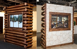 log cabin by leandro erlich