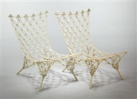 knotted chair (2 works) by marcel wanders