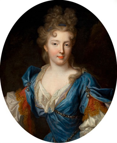 françoise marie de bourbon duchesse dorléans daughter of gaston dorléans by pierre gobert