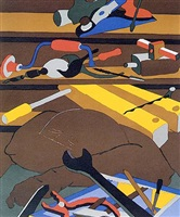 tools (print) by jacob lawrence