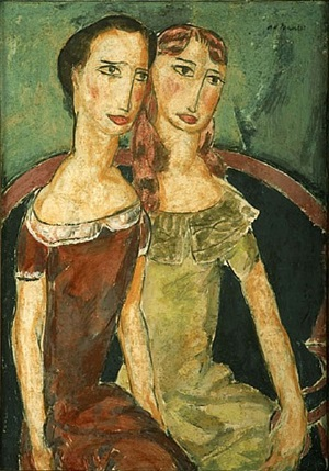two sisters by alfred henry maurer