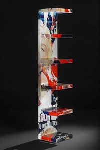 marilyn, la donna piu bella open bookshelf by mimmo rotella