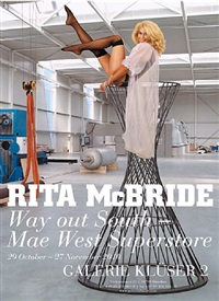 way out south – mae west superstore by rita mcbride