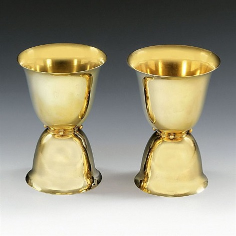 two cups by josef hoffmann