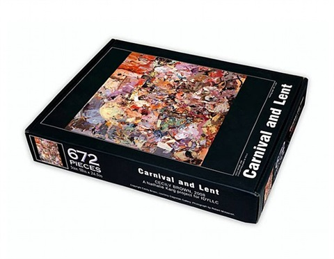 carnival and lent puzzle by cecily brown