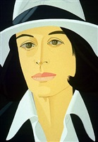 white hat by alex katz
