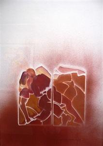 pop art accrochage at fluegel-roncak gallery by allen jones