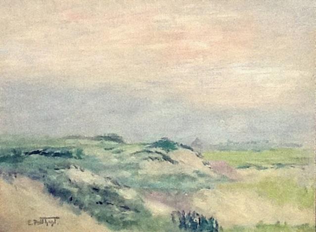 coastal scene by edward henry potthast
