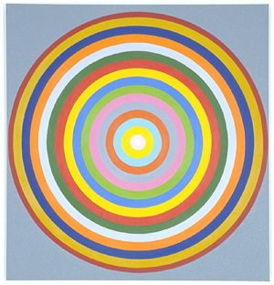 colour concentric circles by peter kalkhof