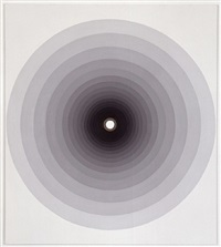 concentric graduated circles (black-white) by peter kalkhof
