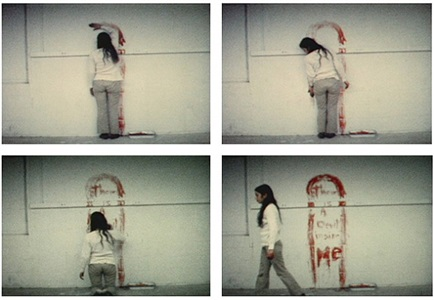 ana mendieta documentation and artwork, 19721985 by ana mendieta