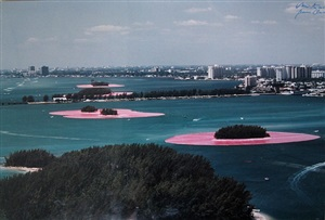 surround islands, biscayne bay, greater miami, fl by christo and jeanne-claude
