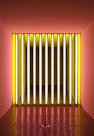 untitled (to barry, mike, chuck and leonard) by dan flavin