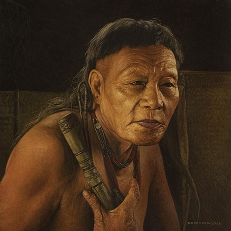 man of penan by tan wei kheng