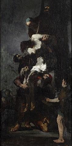 kreuzabnahme by théodule ribot
