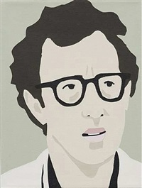 woody allen by brian alfred