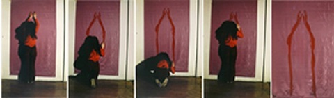 body tracks by ana mendieta