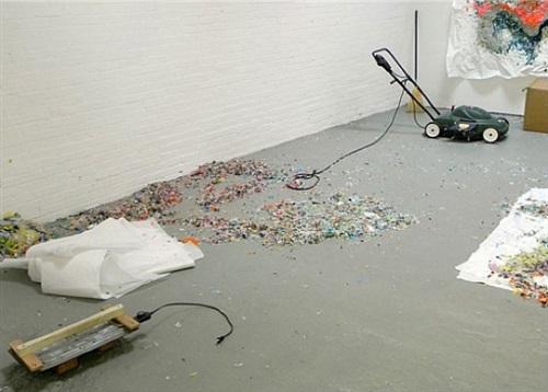 installation view by dan steinhilber
