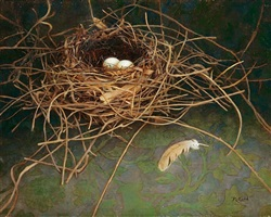 nest by rosemary ladd (sold)