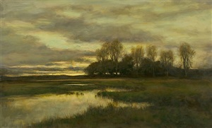 majestic evening by dennis sheehan (sold)