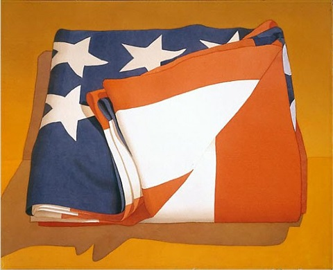folded flag by mark adams