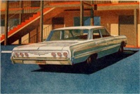 '64 impala by robert bechtle