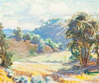 southern california landscape by christian von schneidau