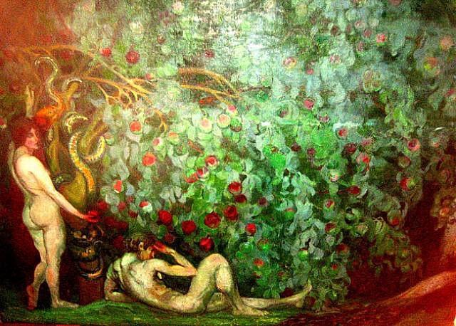 adam and eve by boris izrailovich anisfeld