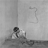 contemplation by roger ballen