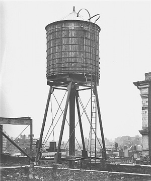 <!--26-->water tower, new york city: grand / mercer st. by bernd and hilla becher