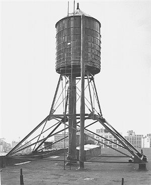 <!--27-->water tower, new york city: broadway / broome st. by bernd and hilla becher