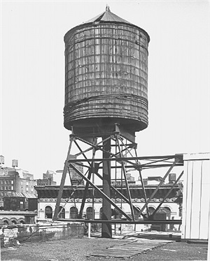 <!--28-->water tower, new york city: greene st. by bernd and hilla becher
