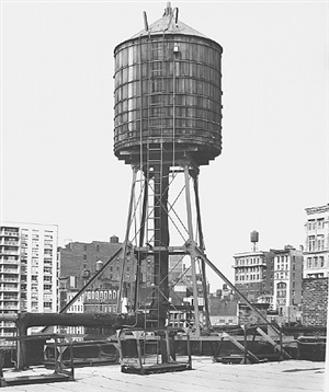 <!--29-->water tower, new york city: wooster / houston st. by bernd and hilla becher