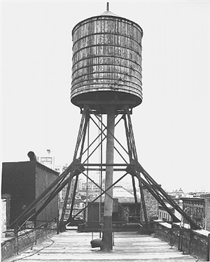 <!--31-->water tower, new york city: grand / mulberry st. by bernd and hilla becher