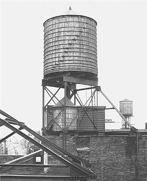 <!--33-->water tower, new york city: 47 crosby st. by bernd and hilla becher