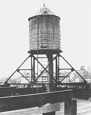 water tower, new york city: 155 wooster st. by bernd and hilla becher