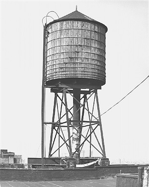 <!--35-->water tower, new york city: houston / mercer st. by bernd and hilla becher