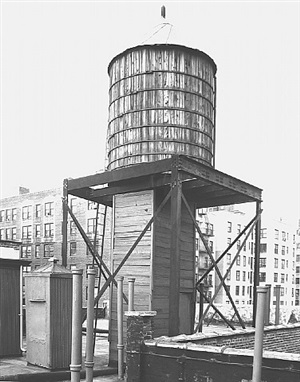 <!--36-->water tower, new york city: broadway / 100th st. by bernd and hilla becher