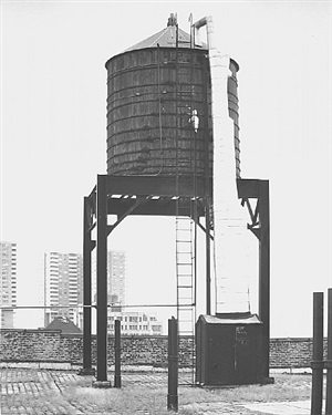 <!--38-->water tower, new york city: 41 north st. by bernd and hilla becher