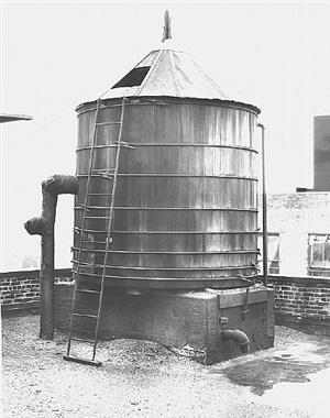 <!--39-->water tower, new york city: broadway / spring st. by bernd and hilla becher