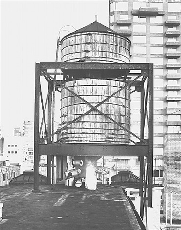 water tower, new york city: 5th avenue by bernd and hilla becher