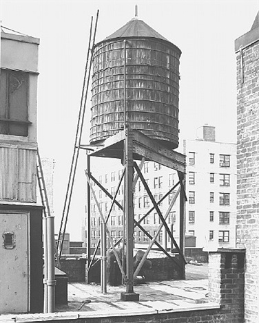 water tower, new york city: broadway / 100th st. by bernd and hilla becher