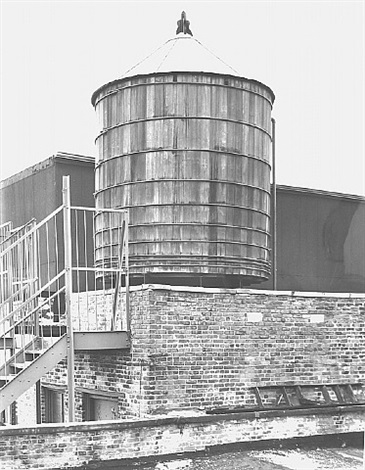 water tower, new york city: broadway / spring st. by bernd and hilla becher