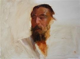 portrait sketch of dan by carol arnold (sold)
